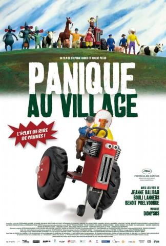 Affiche Panique au village