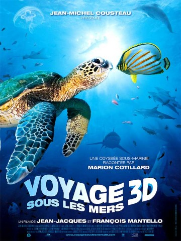 Affiche Voyage sous les mers