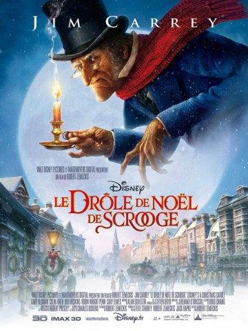 Affiche Drôle de Noël de Scrooge (Le)