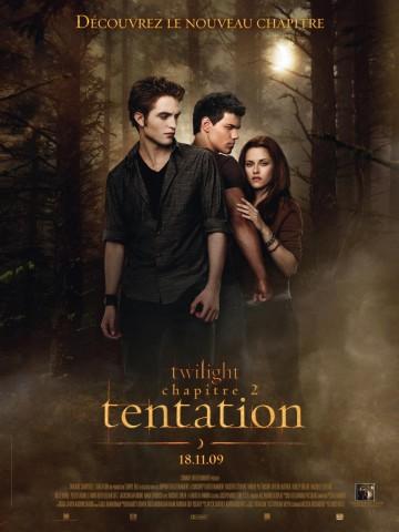 Affiche Twilight - Chapitre 2: tentation
