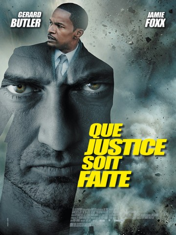 Affiche Law Abiding Citizen - Que justice soit faite