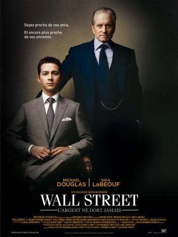 Affiche Wall Street: l'argent ne dort jamais