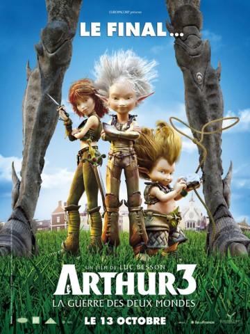 Affiche Arthur 3 - La guerre des deux mondes
