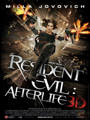 Affiche Resident Evil: Afterlife
