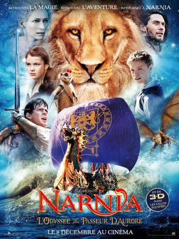 Affiche Monde de Narnia (Le): l'odyssée du Passeur d'Aurore