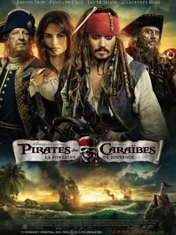 Affiche Pirates des Caraïbes: la Fontaine de Jouvence