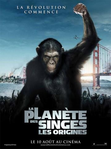 Affiche Planète des singes (La): les origines