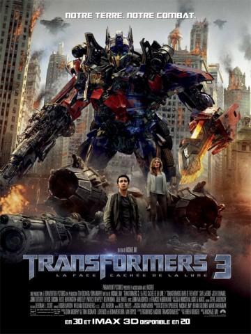 Affiche Transformers 3: la face cachée de la Lune