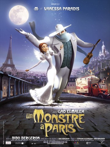 Affiche Un monstre à Paris