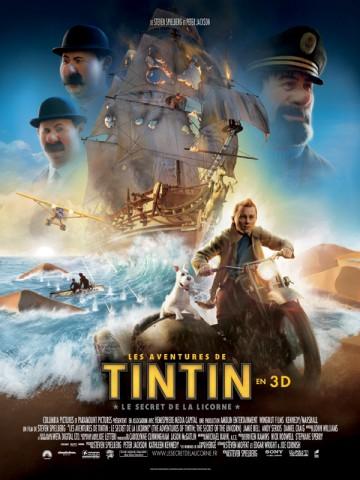 Affiche Aventures de Tintin (Les): Le secret de la Licorne