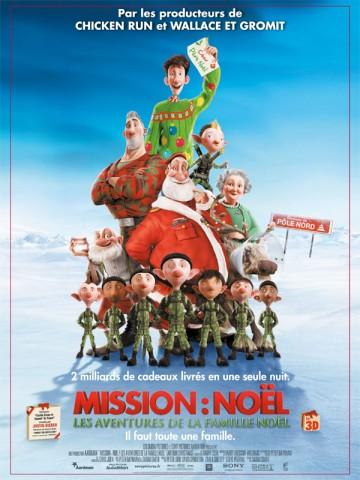 Affiche Mission: Noël - Les aventures de la famille Noël