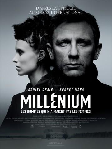 Affiche Millénium - Les hommes qui n'aimaient pas les femmes