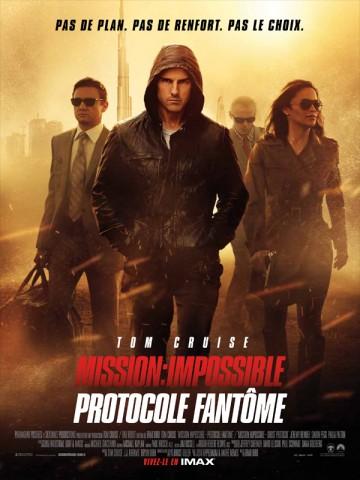 Affiche Mission: Impossible - Protocole fantôme