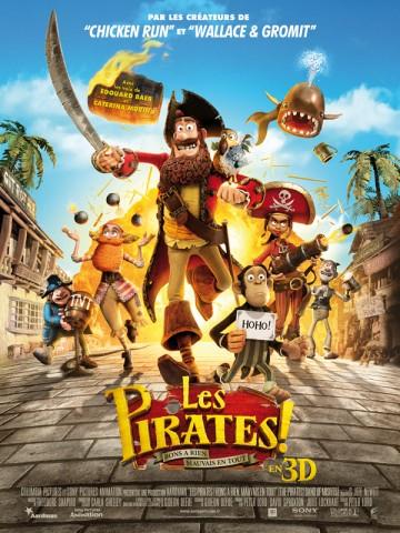 Affiche Pirates! Bons à rien, mauvais en tout (Les)