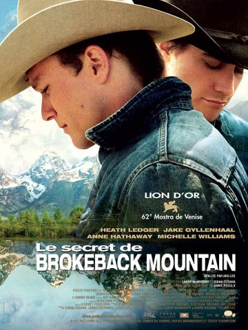 Affiche Secret de Brokeback Mountain (Le)