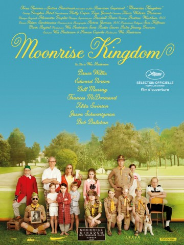 Affiche Moonrise Kingdom