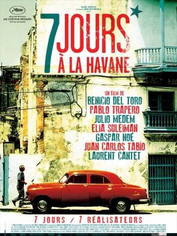 Affiche 7 jours à La Havane