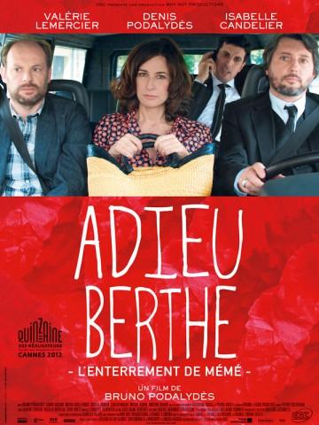 Affiche Adieu Berthe - L'enterrement de mémé