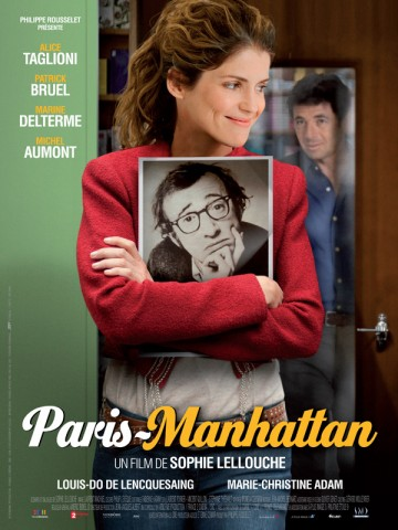 Affiche Paris-Manhattan
