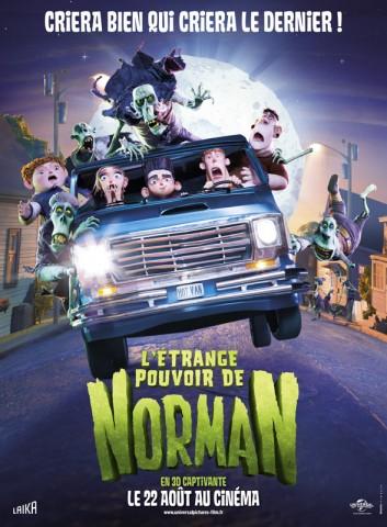 Affiche Etrange Pouvoir de Norman (L')