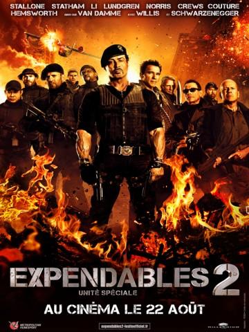 Affiche Expendables 2: unité spéciale