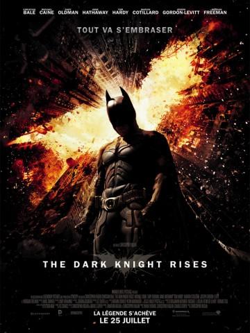 Affiche The Dark Knight Rises
