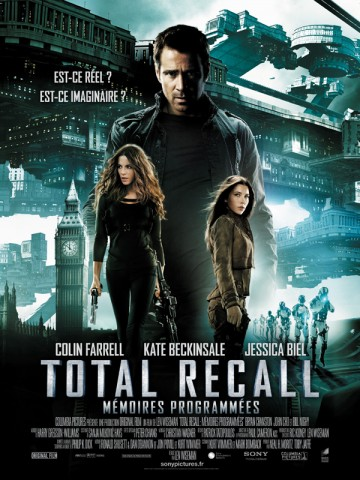Affiche Total Recall - Mémoires programmées