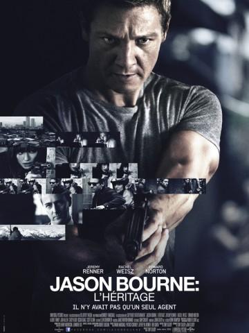 Affiche Jason Bourne: l'héritage