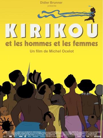 Affiche Kirikou et les hommes et les femmes