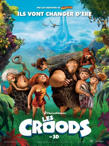 Affiche The Croods