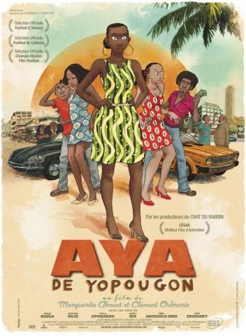 Affiche Aya de Yopougon