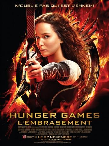Affiche Hunger Games - L'embrasement