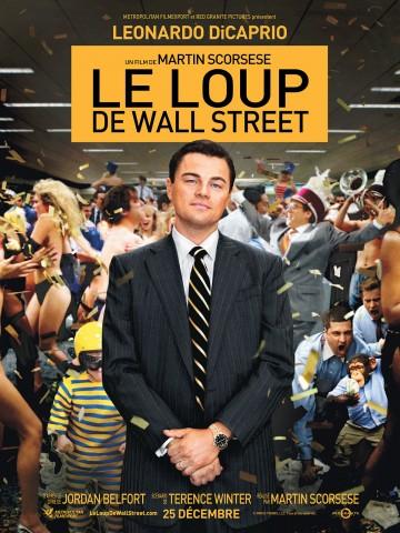 Affiche Le loup de Wall Street