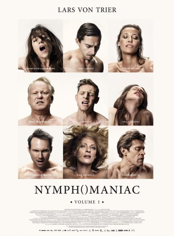 Affiche Nymphomaniac - Volume 1