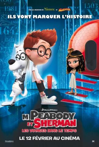 Affiche M. Peabody et Sherman: Les voyages dans le temps