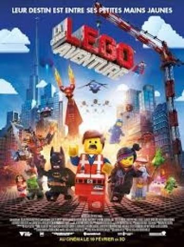 Affiche La grande aventure Lego 3D