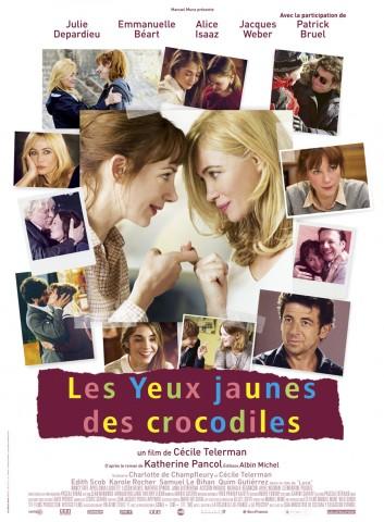Affiche Les Yeux jaunes des crocodiles