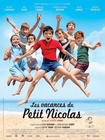 Affiche Les vacances du petit Nicolas