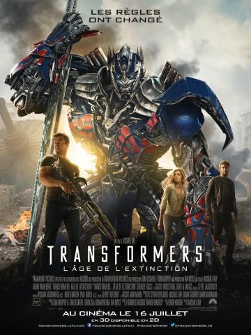 Affiche Transformers - L'âge de l'extinction