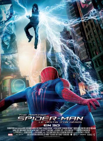 Affiche The Amazing Spider-Man 2: Le destin d'un héros 3D