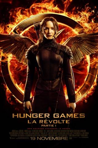 Affiche Hunger Games - La révolte: Partie 1