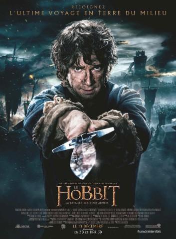 Affiche Le Hobbit 3: La bataille des cinq armées