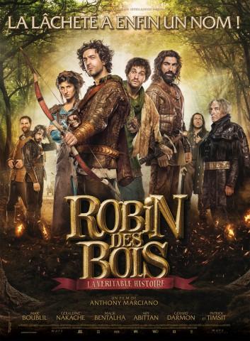Affiche Robin des bois. La véritable histoire