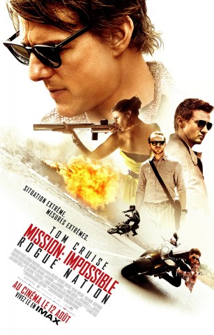 Affiche Mission Impossible : Rogue Nation