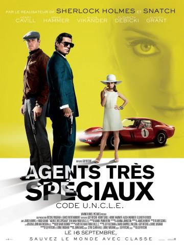 Affiche Agents très spéciaux - code U.N.C.L.E