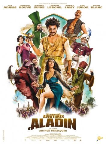 Affiche Nouvelles aventures d'Aladin (Les)