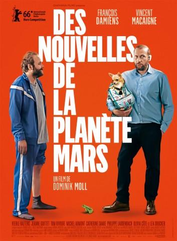 Affiche Nouvelles de la planète Mars (Des)