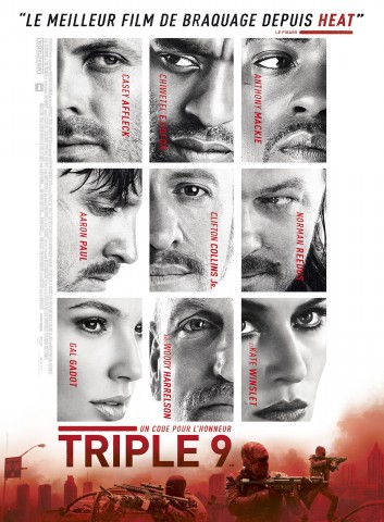 Affiche Triple 9