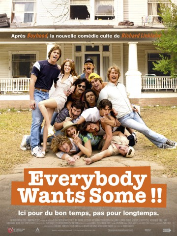 Affiche Everybody want some
