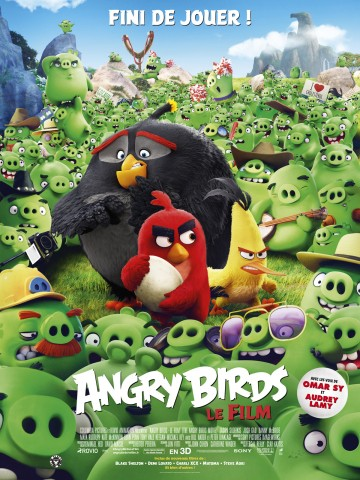 Affiche Angry Birds - Le film